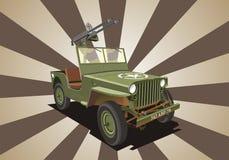 吉普设备战争willis 免版税库存照片