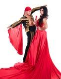 吉普赛佛拉明柯舞曲舞蹈家夫妇 免版税库存照片