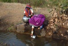 吉普赛印度妇女 免版税库存图片