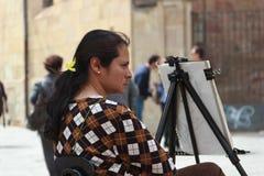 吉普赛妇女 免版税图库摄影