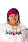 吉普赛拉丁妇女 免版税图库摄影