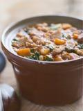 吉普赛炖煮的食物 免版税库存图片