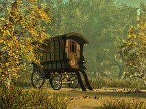 吉普赛s有篷货车 库存图片