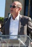 吉米约翰逊天在亚利桑那 免版税库存照片