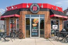 吉米约翰` s餐馆外部 库存照片
