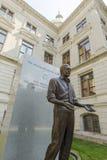 吉米・卡特雕象 免版税库存照片