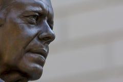 吉米・卡特雕象 库存照片