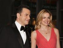 吉米Kimmel和娘娘腔的男人McNearney 图库摄影