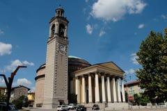 吉萨尔巴, BG,意大利教会  图库摄影