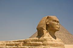 吉萨棉伟大的狮身人面象  免版税库存图片