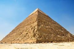 吉萨棉伟大的金字塔在埃及,开罗 免版税库存照片