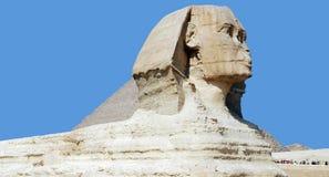 吉萨棉极大的狮身人面象 免版税库存照片