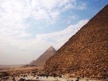 吉萨棉极大的金字塔 免版税库存照片