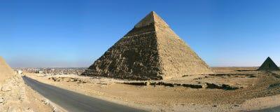 吉萨棉金字塔在开罗 库存图片