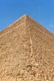吉萨棉金字塔详细资料 库存图片