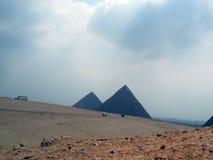 吉萨棉金字塔:开罗埃及 图库摄影