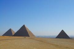 吉萨棉金字塔-开罗-埃及 库存照片