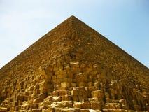 吉萨棉高原金字塔 图库摄影