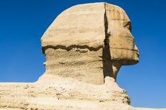 吉萨棉,开罗,埃及伟大的狮身人面象  免版税库存图片