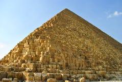 吉萨棉,开罗,埃及金字塔  库存照片