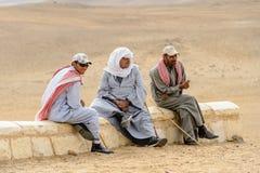 吉萨金字塔群,埃及 免版税图库摄影