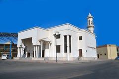 吉达清真寺 免版税图库摄影