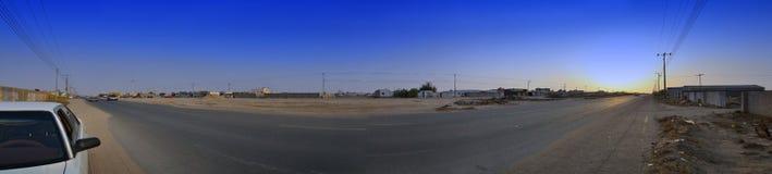 吉达郊外 库存图片