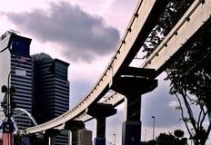 吉隆坡单轨 免版税图库摄影