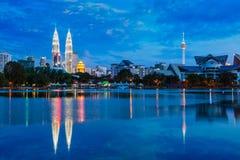 吉隆坡地平线与 库存图片