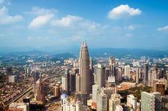 吉隆坡地平线,马来西亚, 库存图片