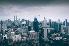 吉隆坡地平线 库存照片