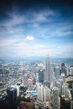 吉隆坡地平线 图库摄影
