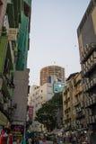 吉隆坡地方bussines街道在吉隆坡 免版税库存图片