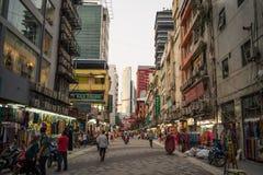 吉隆坡地方bussines街道在吉隆坡 库存照片
