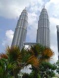 吉隆坡孪生 免版税库存图片