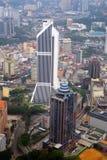 吉隆坡市地平线的储蓄图象 免版税库存照片