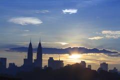 吉隆坡市scape 免版税库存图片