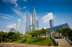 吉隆坡摩天大楼 免版税库存图片