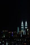 吉隆坡晚上 图库摄影