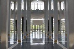 吉隆坡清真寺城市scape 免版税库存图片