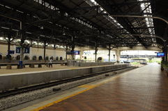 吉隆坡火车站建筑细节  免版税图库摄影