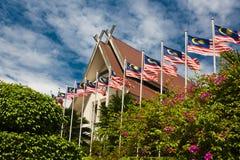 吉隆坡的中心 库存照片