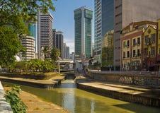 吉隆坡的历史中心 库存照片
