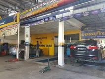 吉隆坡第24 Novermber 车间在周末ooened的ghe城市 库存照片