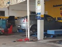 吉隆坡第24 Novermber 车间在周末ooened的ghe城市 免版税图库摄影