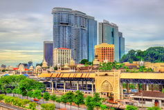 吉隆坡老火车站在马来西亚 库存图片