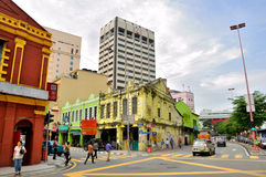 吉隆坡街道  库存照片
