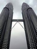 吉隆坡马来西亚天然碱塔孪生 免版税库存图片