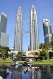 吉隆坡马来西亚天然碱塔 库存图片