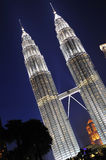 吉隆坡马来西亚天然碱耸立孪生 库存图片